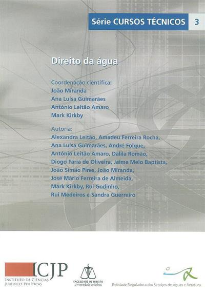 Direito da água (Alexandra Leitão... [et al.])