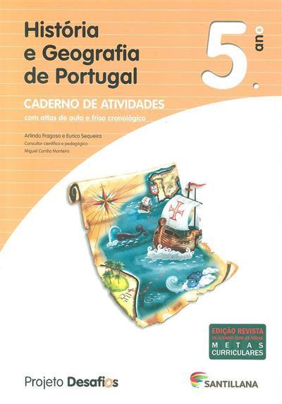 História e Geografia de Portugal, 5º ano (Arlindo Fragoso, Eurico Sequeira)