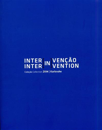 Inter[in]venção (curadores, ed. Peter Weibel, Claudia Giannetti)
