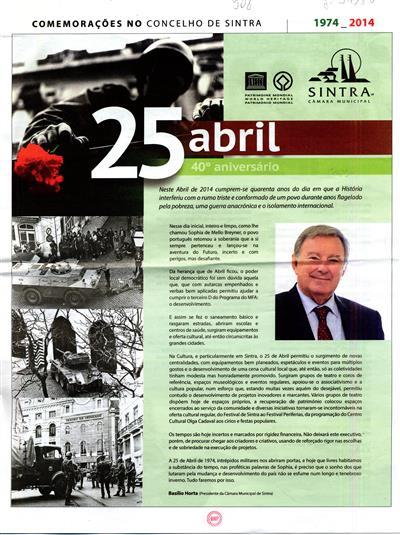 25 abril (Câmara Municipal de Sintra)