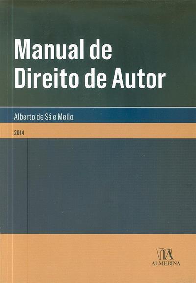 Manual de direito de autor (Alberto de Sá e Mello)