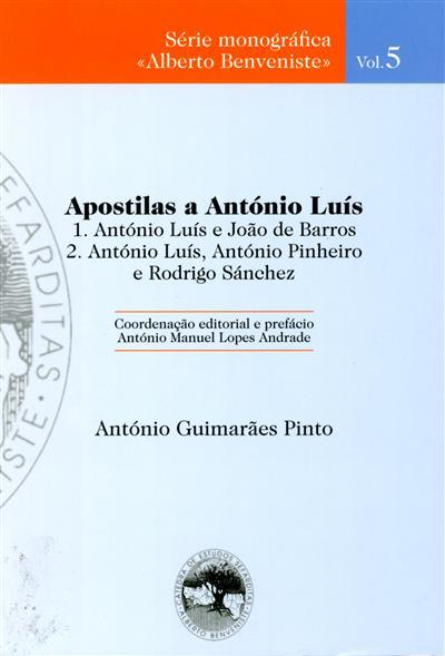 Apostilas a António Luís (António Guimarães Pinto)