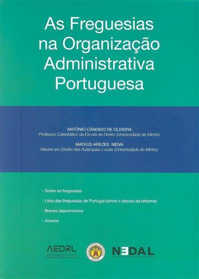 As freguesias na organização administrativa portuguesa (António Cândido de Oliveira, Mateus Arezes Neiva)