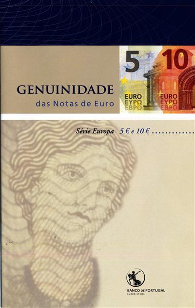 Genuidade das notas de euro (Banco de Portugal)