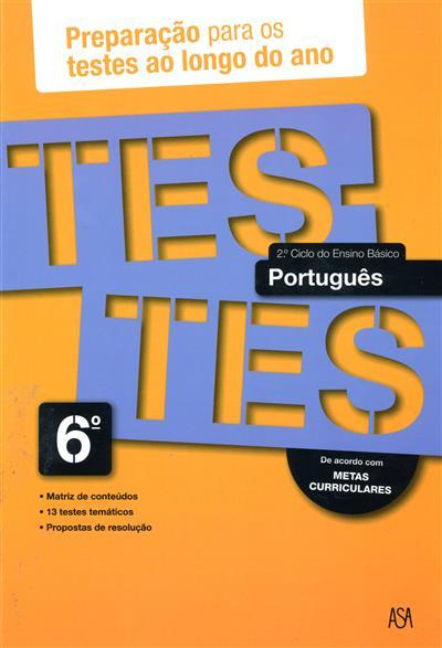 Testes português, 6º ano (Cláudia Monteiro)