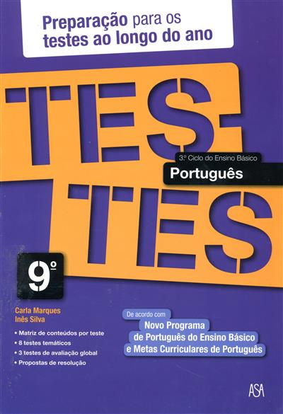 Testes português, 9º ano (Carla Marques, Inês Silva)