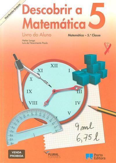 Descobrir a matemática 5 (Heitor Langa, Luís de Nascimento Paulo)