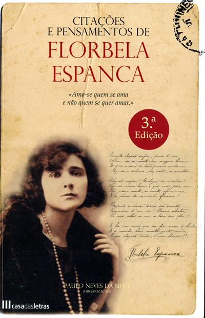Citações e pensamentos de Florbela Espanca (org. Paulo Neves da Silva)