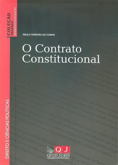 O contrato constitucional (Paulo Ferreira da Cunha)