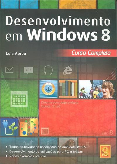 Desenvolvimento em Windows 8 (Luís Abreu)
