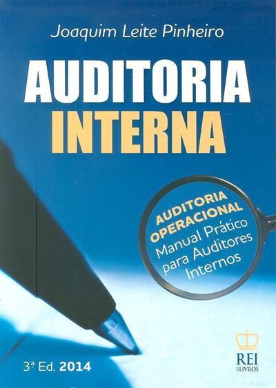 Auditoria interna (Joaquim Leite Pinheiro)