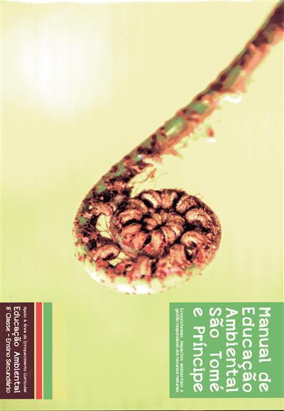 Manual de educação ambiental São Tomé e Príncipe (coord. Joaquim Ramos Pinto, João Pessoa Lima)