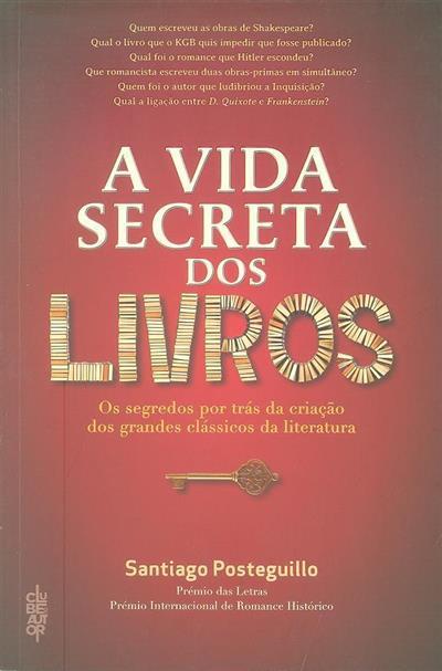 A vida secreta dos livros (Santiago Posteguillo)