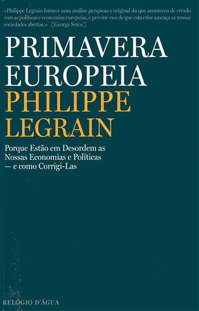 Primavera europeia (Philippe Legrain)