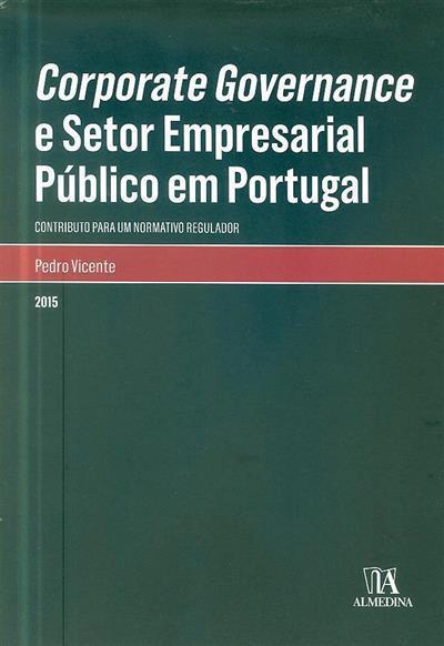Corporate governance e setor empresarial público em Portugal (Pedro Vicente)