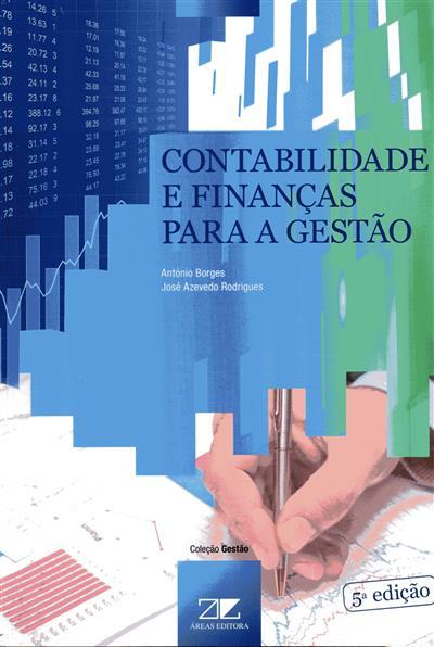 Contabilidade e finanças para a gestão (António Borges, José Azevedo Rodrigues)