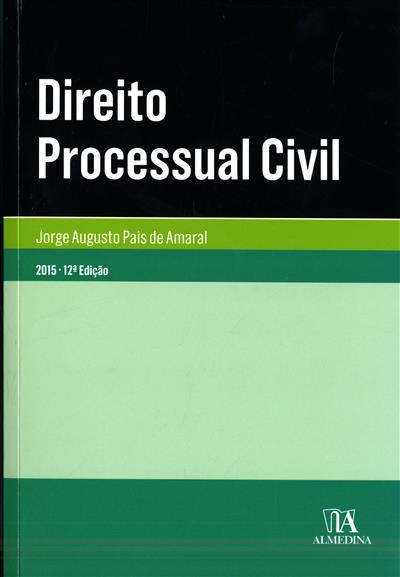Direito processual civil (Jorge Augusto Pais de Amaral)