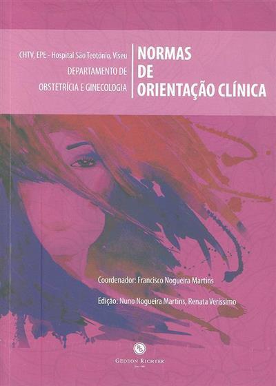Normas de orientação clínica (coord. Francisco Nogueira Martins)