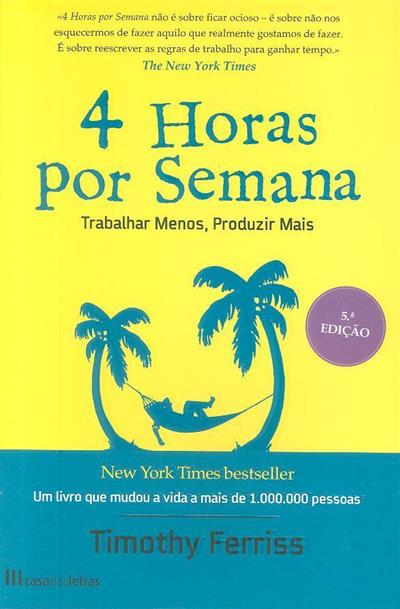 4 horas por semana (Timothy Ferriss)