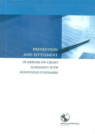 Prevention and settlement of arrears on credit agrrement with household customers