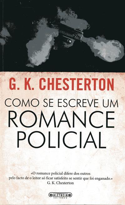 Como se escreve um romance policial (G. K. Chesterton)
