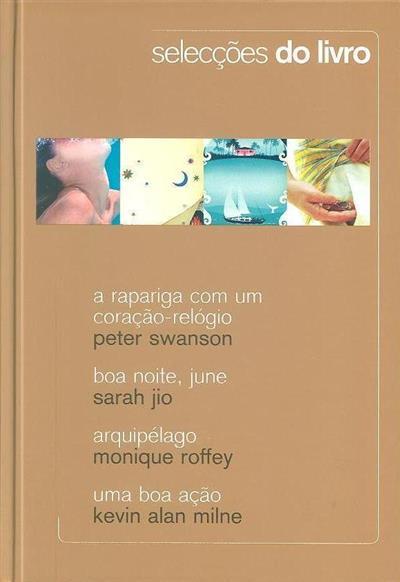 A rapariga com um coração-relógio (Peter Swanson)