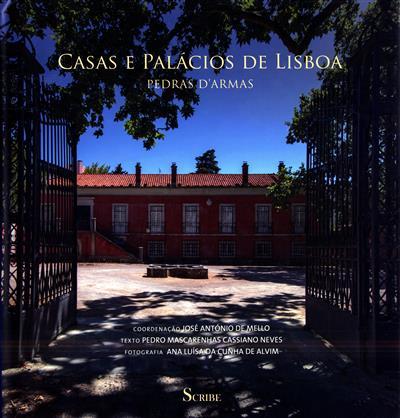 Casas e palácios de Lisboa (coord. José António de Mello)