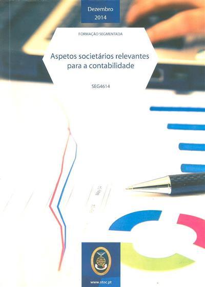 Aspetos societários relevantes para a contabilidade (Jorge Fernando Carvalheiro)