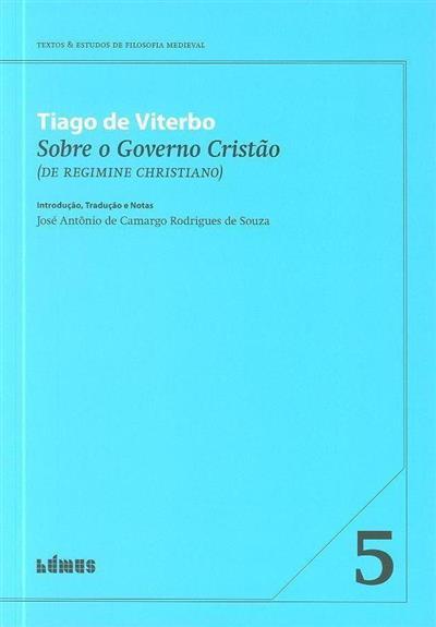 Sobre o governo cristão (Tiago de Viterbo)