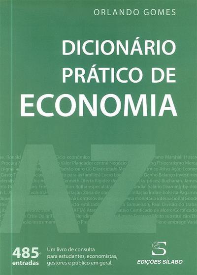 Dicionário prático de economia (Orlando Gomes)