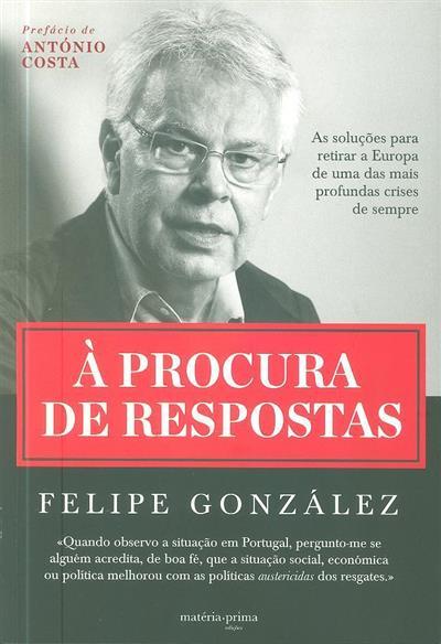À procura de respostas (Felipe González)
