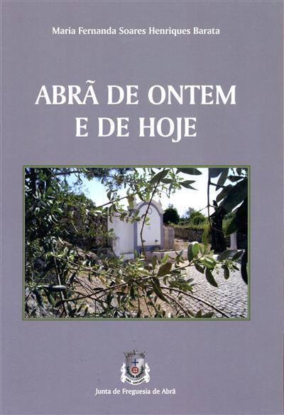Abrã de ontem e de hoje (Maria Fernanda Soares Henriques Barata)