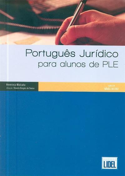 Português jurídico para alunos de PLE (Hermínia Malcata)