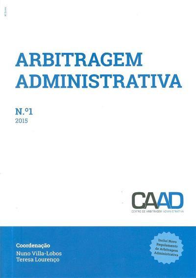 Arbitragem administrativa (propr. Centro de Arbitragem Administrativa )