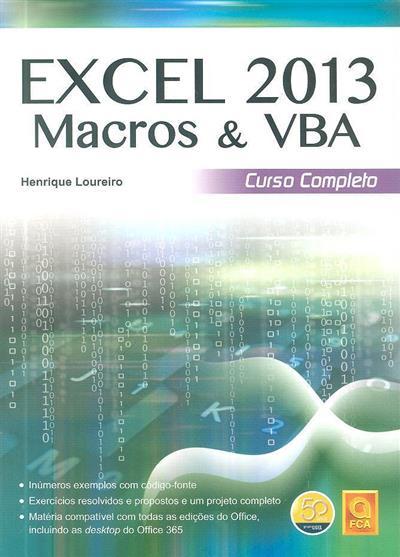 Excel 2013 macros & VBA (Henrique Loureiro)