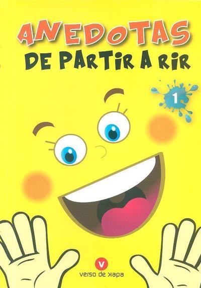 Anedotas de partir a rir 1 (ed. Maria João Mergulhão, Maria da Graça Dimas)