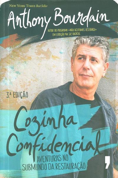 Cozinha confidencial (Anthony Bourdain)