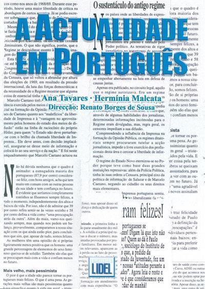 A actualidade em português (Ana Tavares, Hermínia Malcata)