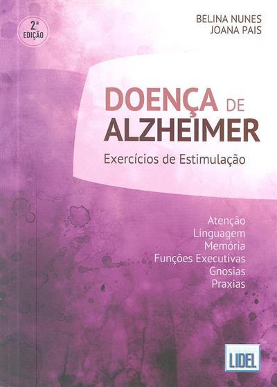 Doença de Alzheimer (Belina Nunes, Joana Pais)