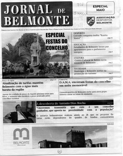 Jornal de Belmonte (propr. Associação Desportiva de Belmonte)
