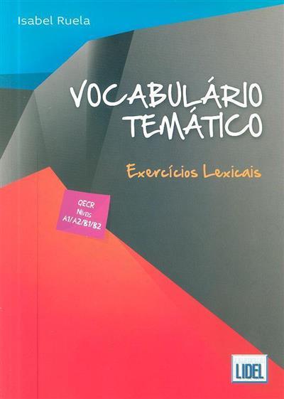 Vocabulário temático (Isabel Ruela)