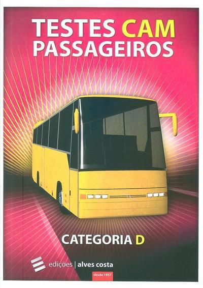 Testes CAM passageiros (Marco Neves, Pedro Grave, Edições Alves Costa)