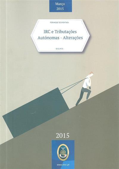 IRC e tributações autónomas (Ana Cristina, Elsa Costa)