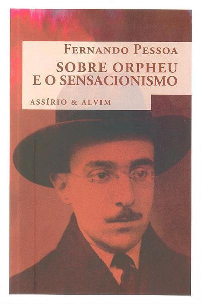 Sobre Orpheu e o sensacionismo (Fernando Pessoa)