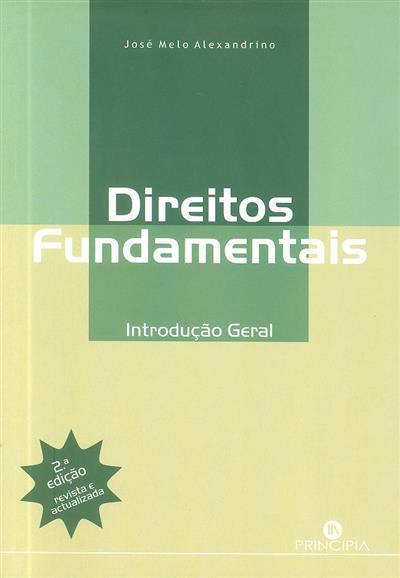 Direitos fundamentais (José de Melo Alexandrino)
