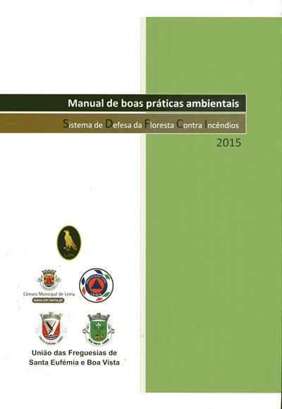 Manual de boas práticas ambientais (propr. Junta de Freguesia da União de Freguesias de Santa Eufémia e Boa Vista)