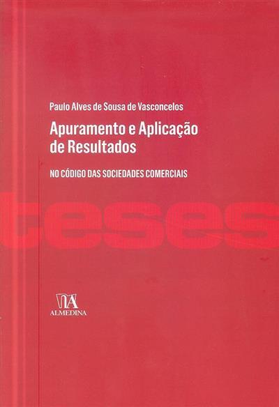 Apuramento e aplicação de resultados (Paulo Alves de Sousa de Vasconcelos)