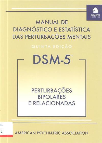 Perturbações bipolares e relacionadas (ed. portuguesa João Cabral Fernandes)