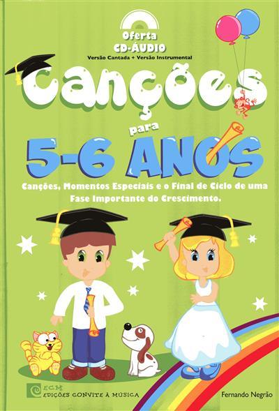 Canções para 5-6 anos (Fernando Negrão)