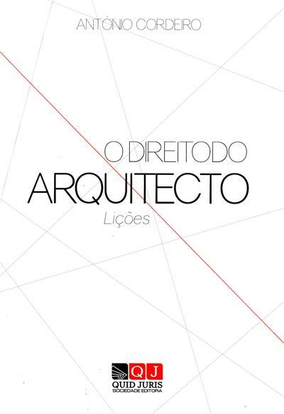 O direito do arquitecto (António Cordeiro)